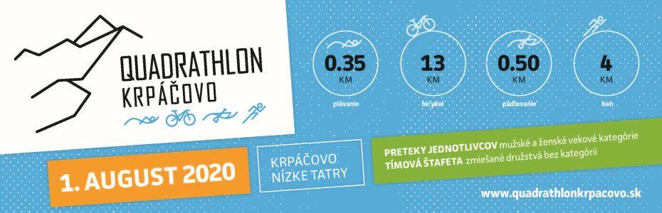 Banner Quadrathlon Krpáčovo